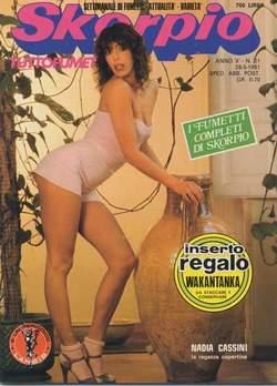 Copertina SKORPIO ANNO  5 n.21 - SKORPIO 1981            21, EDITORIALE AUREA