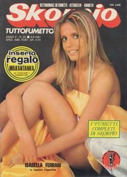 Copertina SKORPIO ANNO  5 n.22 - SKORPIO 1981            22, EDITORIALE AUREA