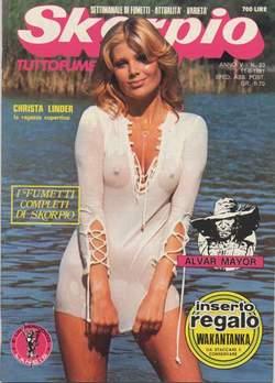 Copertina SKORPIO ANNO  5 n.23 - SKORPIO 1981            23, EDITORIALE AUREA