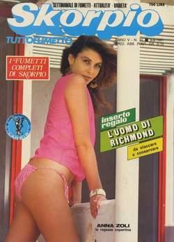 Copertina SKORPIO ANNO  5 n.31 - SKORPIO 1981            31, EDITORIALE AUREA