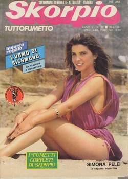 Copertina SKORPIO ANNO  5 n.33 - SKORPIO 1981            33, EDITORIALE AUREA