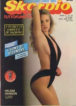 Copertina SKORPIO ANNO  5 n.34 - SKORPIO 1981            34, EDITORIALE AUREA