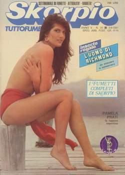 Copertina SKORPIO ANNO  5 n.35 - SKORPIO 1981            35, EDITORIALE AUREA