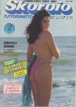Copertina SKORPIO ANNO  5 n.37 - SKORPIO 1981            37, EDITORIALE AUREA