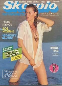 Copertina SKORPIO ANNO  5 n.38 - SKORPIO 1981            38, EDITORIALE AUREA