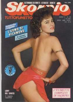 Copertina SKORPIO ANNO  5 n.39 - SKORPIO 1981            39, EDITORIALE AUREA