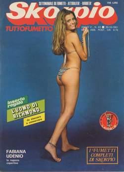 Copertina SKORPIO ANNO  5 n.43 - SKORPIO 1981            43, EDITORIALE AUREA