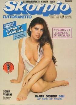 Copertina SKORPIO ANNO  5 n.48 - SKORPIO 1981            48, EDITORIALE AUREA