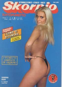 Copertina SKORPIO ANNO  5 n.52 - SKORPIO 1981            52, EDITORIALE AUREA
