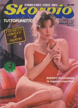 Copertina SKORPIO ANNO  5 n.3 - SKORPIO 1981             3, EDITORIALE AUREA