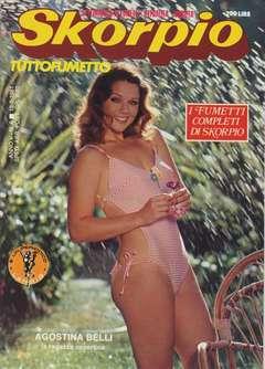 Copertina SKORPIO ANNO  5 n.6 - SKORPIO 1981             6, EDITORIALE AUREA
