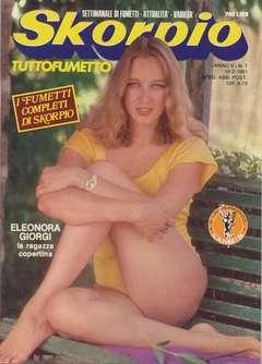 Copertina SKORPIO ANNO  5 n.7 - SKORPIO 1981             7, EDITORIALE AUREA