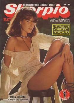 Copertina SKORPIO ANNO  5 n.9 - SKORPIO 1981             9, EDITORIALE AUREA