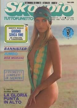 Copertina SKORPIO ANNO  6 n.10 - SKORPIO 1982            10, EDITORIALE AUREA