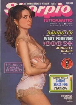Copertina SKORPIO ANNO  6 n.13 - SKORPIO 1982            13, EDITORIALE AUREA