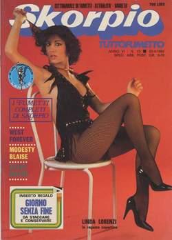 Copertina SKORPIO ANNO  6 n.15 - SKORPIO 1982            15, EDITORIALE AUREA