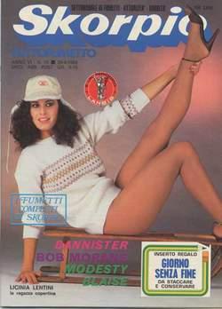 Copertina SKORPIO ANNO  6 n.16 - SKORPIO 1982            16, EDITORIALE AUREA