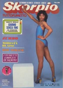 Copertina SKORPIO ANNO  6 n.17 - SKORPIO 1982            17, EDITORIALE AUREA