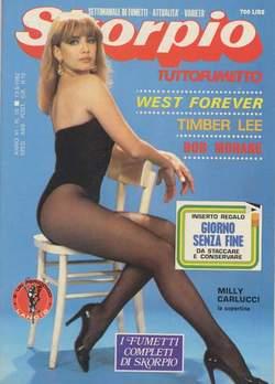 Copertina SKORPIO ANNO  6 n.18 - SKORPIO 1982            18, EDITORIALE AUREA