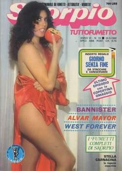 Copertina SKORPIO ANNO  6 n.19 - SKORPIO 1982            19, EDITORIALE AUREA