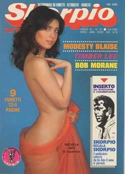 Copertina SKORPIO ANNO  6 n.21 - SKORPIO 1982            21, EDITORIALE AUREA