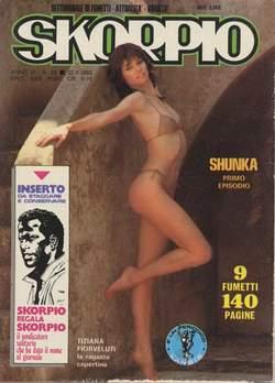 Copertina SKORPIO ANNO  6 n.28 - SKORPIO 1982            28, EDITORIALE AUREA
