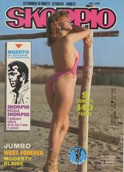 Copertina SKORPIO ANNO  6 n.29 - SKORPIO 1982            29, EDITORIALE AUREA