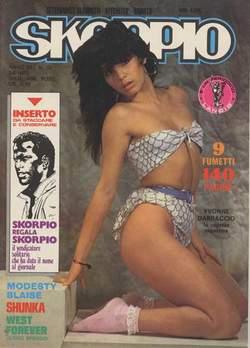 Copertina SKORPIO ANNO  6 n.30 - SKORPIO 1982            30, EDITORIALE AUREA