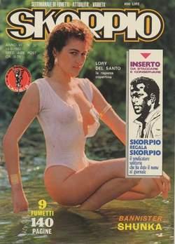 Copertina SKORPIO ANNO  6 n.32 - SKORPIO 1982            32, EDITORIALE AUREA
