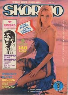 Copertina SKORPIO ANNO  6 n.35 - SKORPIO 1982            35, EDITORIALE AUREA