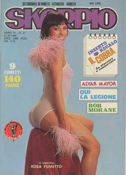 Copertina SKORPIO ANNO  6 n.41 - SKORPIO 1982            41, EDITORIALE AUREA