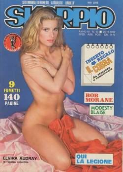 Copertina SKORPIO ANNO  6 n.42 - SKORPIO 1982            42, EDITORIALE AUREA