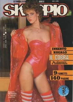 Copertina SKORPIO ANNO  6 n.43 - SKORPIO 1982            43, EDITORIALE AUREA
