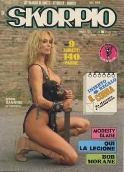 Copertina SKORPIO ANNO  6 n.44 - SKORPIO 1982            44, EDITORIALE AUREA