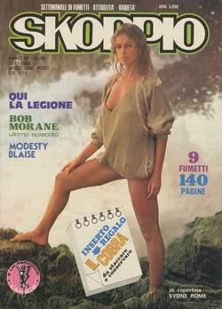 Copertina SKORPIO ANNO  6 n.46 - SKORPIO 1982            46, EDITORIALE AUREA
