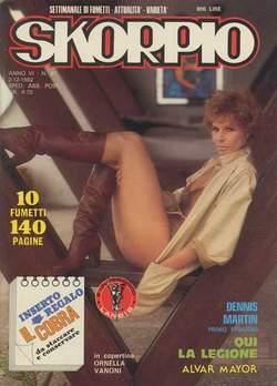 Copertina SKORPIO ANNO  6 n.47 - SKORPIO 1982            47, EDITORIALE AUREA