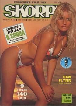 Copertina SKORPIO ANNO  6 n.48 - SKORPIO 1982            48, EDITORIALE AUREA