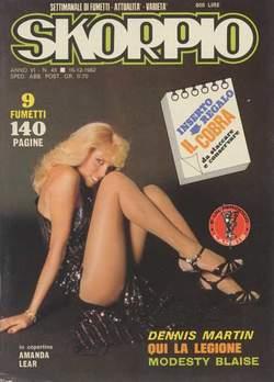 Copertina SKORPIO ANNO  6 n.49 - SKORPIO 1982            49, EDITORIALE AUREA