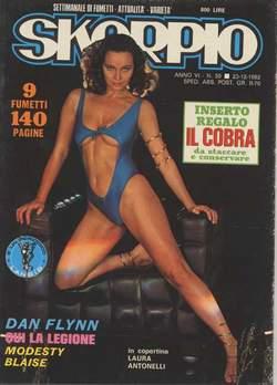 Copertina SKORPIO ANNO  6 n.50 - SKORPIO 1982            50, EDITORIALE AUREA