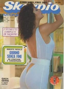 Copertina SKORPIO ANNO  6 n.2 - SKORPIO 1982             2, EDITORIALE AUREA
