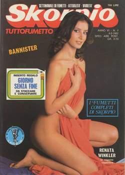 Copertina SKORPIO ANNO  6 n.4 - SKORPIO 1982             4, EDITORIALE AUREA