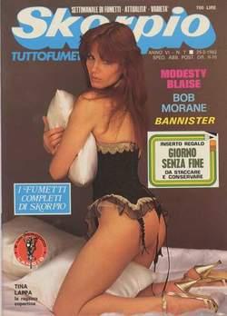 Copertina SKORPIO ANNO  6 n.7 - SKORPIO 1982             7, EDITORIALE AUREA