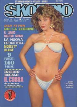 Copertina SKORPIO ANNO  7 n.10 - SKORPIO 1983            10, EDITORIALE AUREA
