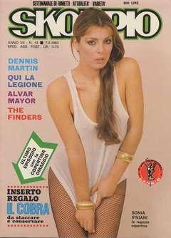 Copertina SKORPIO ANNO  7 n.13 - SKORPIO 1983            13, EDITORIALE AUREA