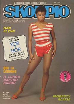 Copertina SKORPIO ANNO  7 n.14 - SKORPIO 1983            14, EDITORIALE AUREA