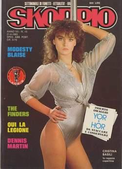 Copertina SKORPIO ANNO  7 n.15 - SKORPIO 1983            15, EDITORIALE AUREA