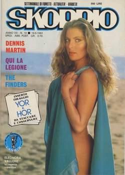 Copertina SKORPIO ANNO  7 n.19 - SKORPIO 1983            19, EDITORIALE AUREA
