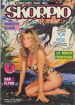 Copertina SKORPIO ANNO  7 n.20 - SKORPIO 1983            20, EDITORIALE AUREA
