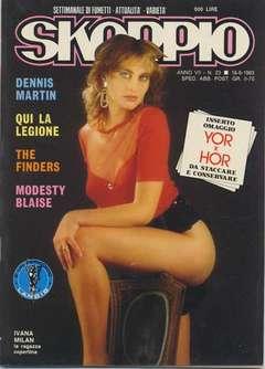 Copertina SKORPIO ANNO  7 n.23 - SKORPIO 1983            23, EDITORIALE AUREA