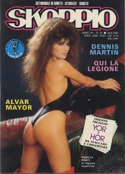 Copertina SKORPIO ANNO  7 n.25 - SKORPIO 1983            25, EDITORIALE AUREA